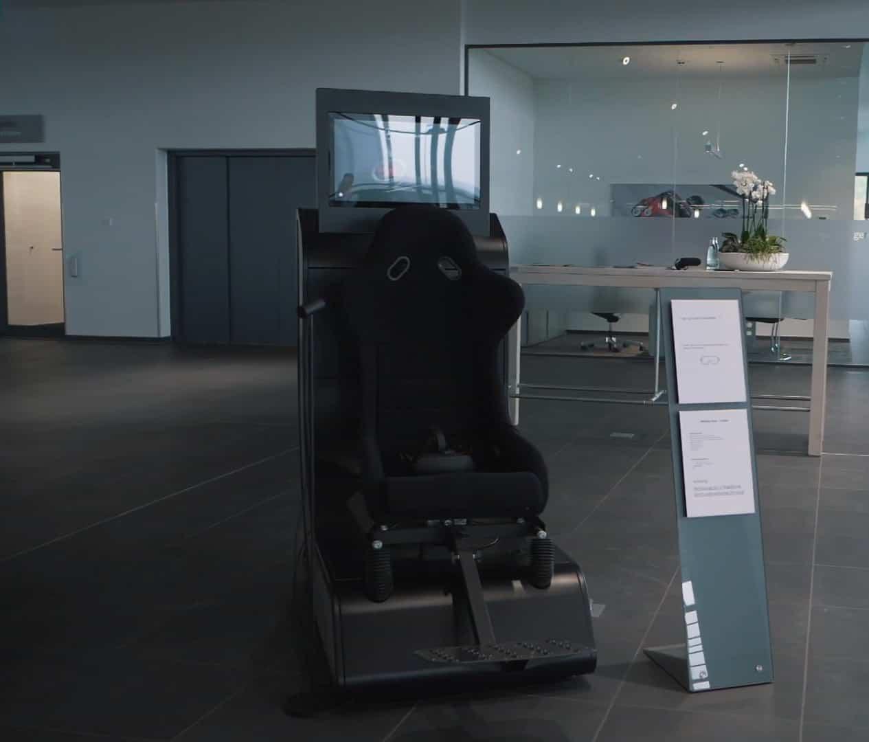 Motion Platform with VR