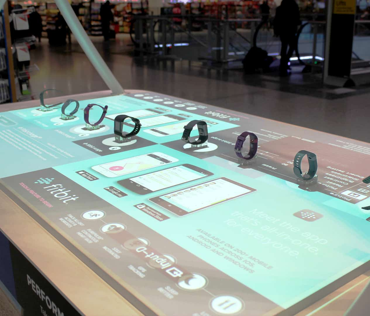 Interactive Projection Table