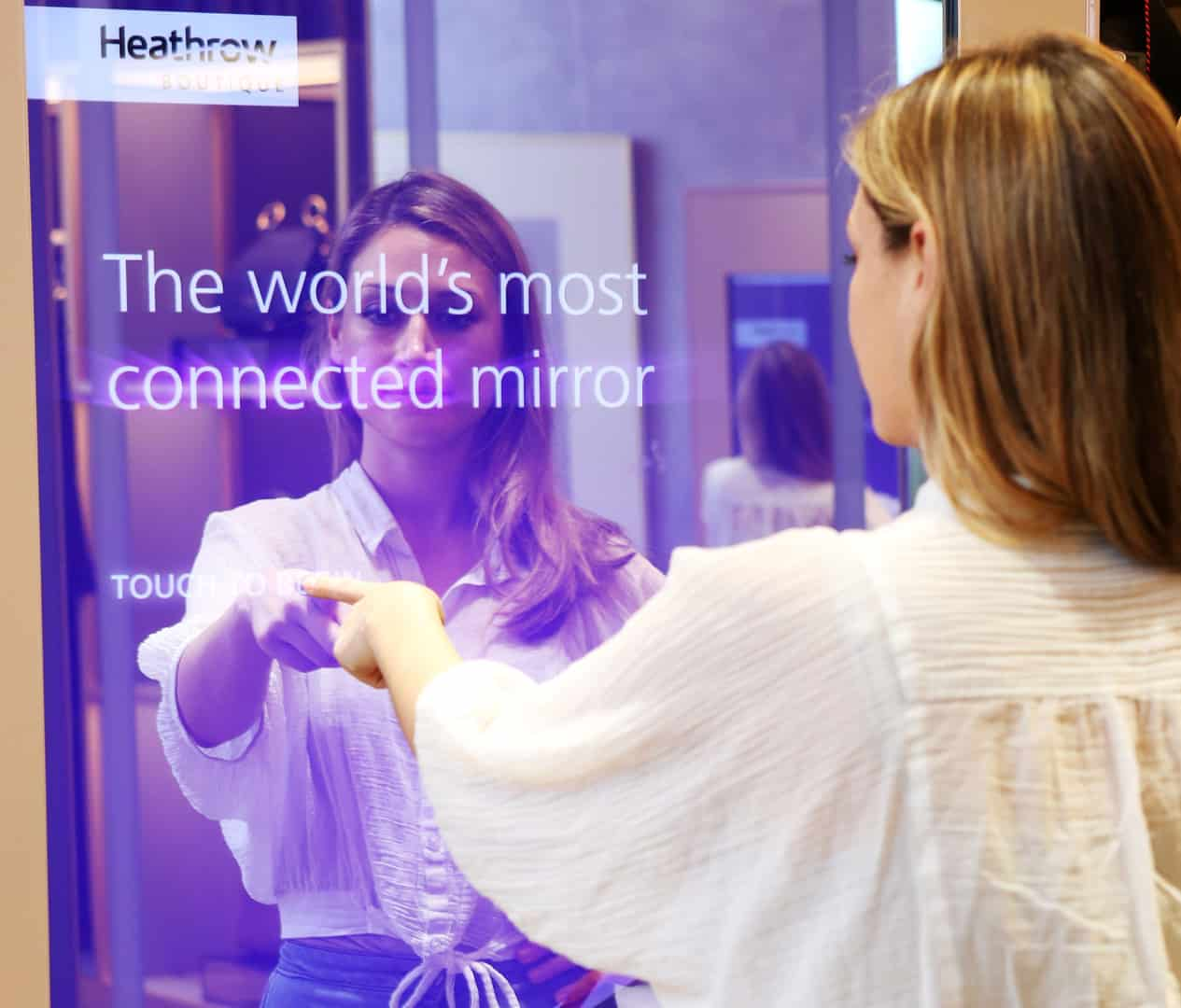 The worlds most connected mirror