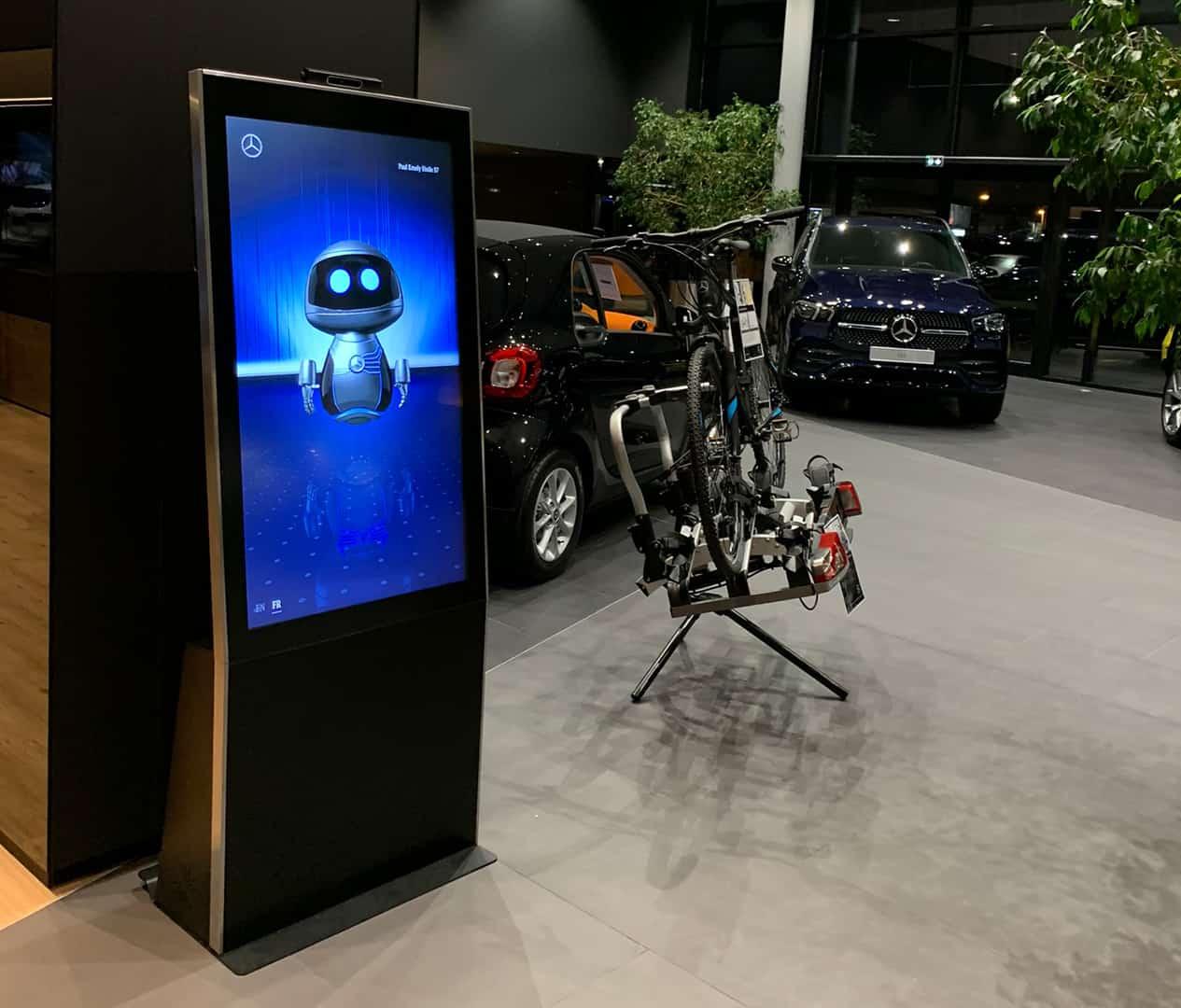 Car dealership digital promotion